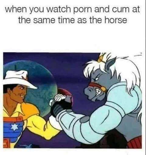 Good horse - meme