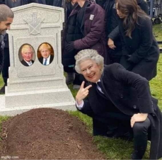 Elle nous enterrera tous - meme