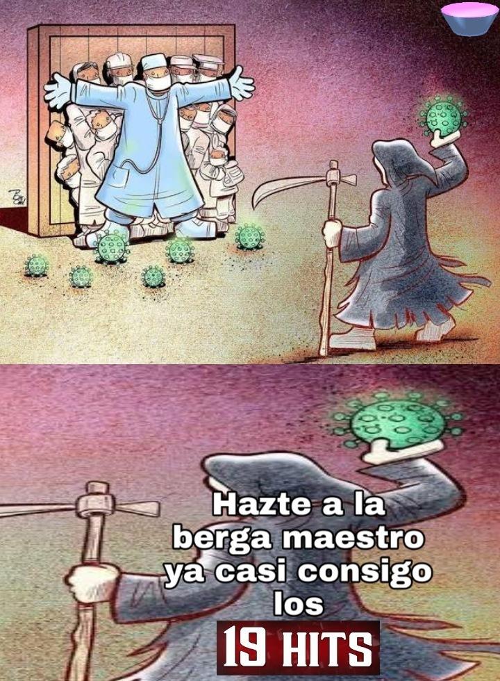 Pinche muerte - meme