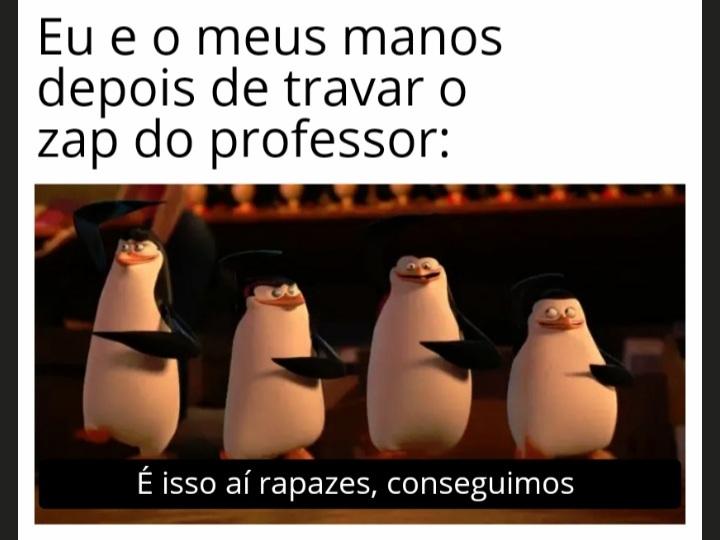 TRAVA ZAP - meme