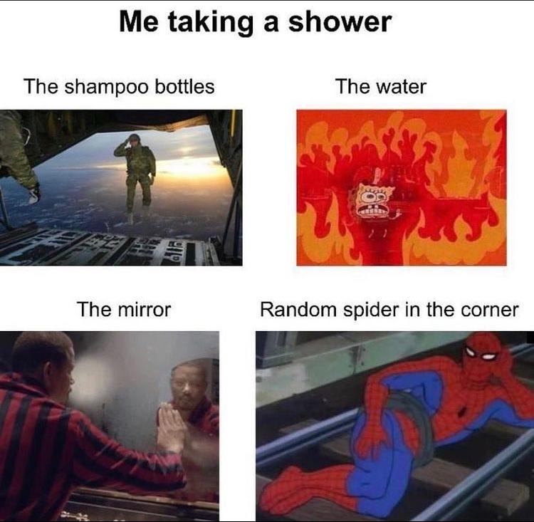 that spider tho - meme