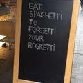 Eat spagetti
