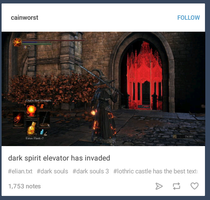 Ohohoh, Dark Souls 3 meme, but seriously tho, I've also been having some texture issues in Lothric Castle.