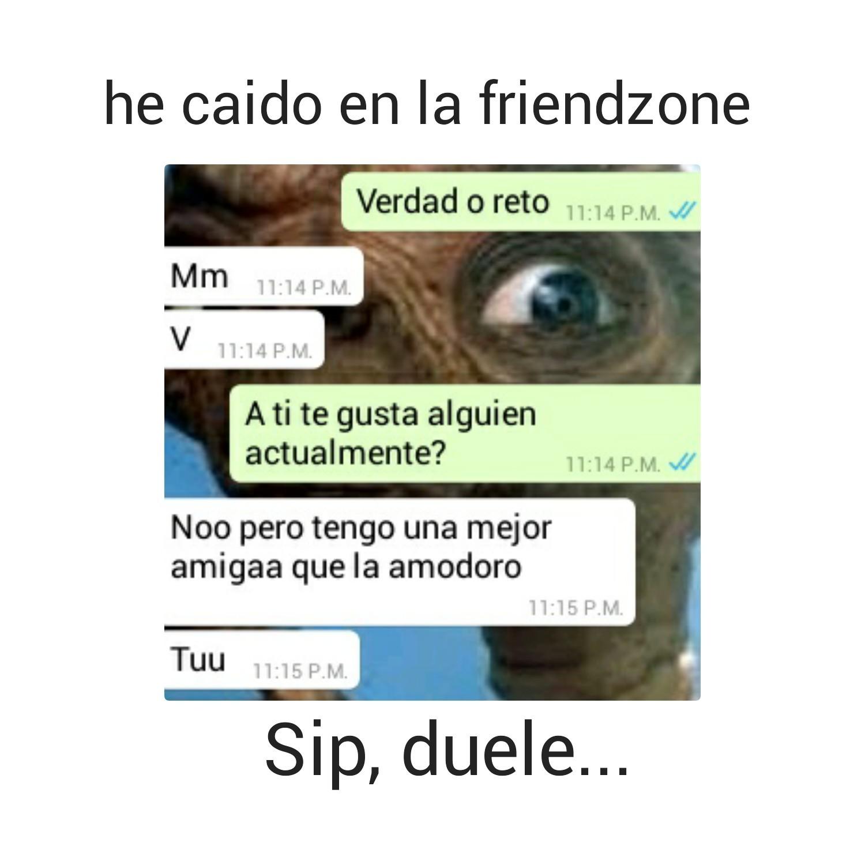 Friendzoneada :'v - meme
