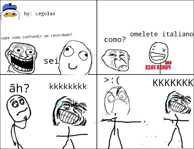 reverse troll :) - meme