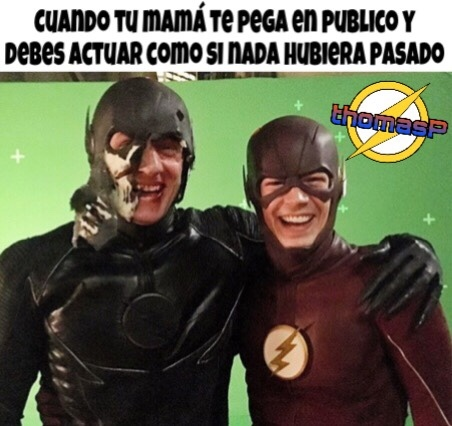 My name is Barry Allen :v - meme