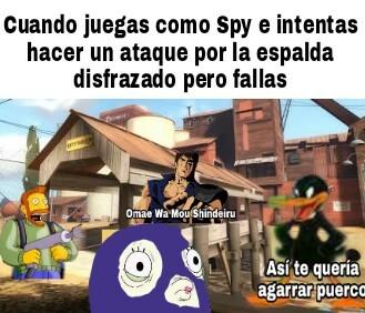 El título es un Spy - meme