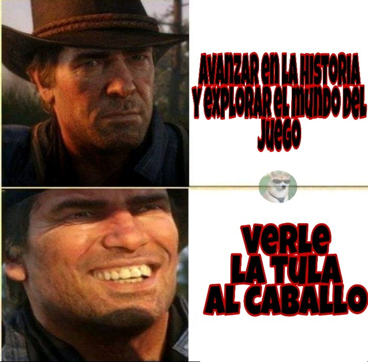 Caballos ql 2 plantilla gratis - meme