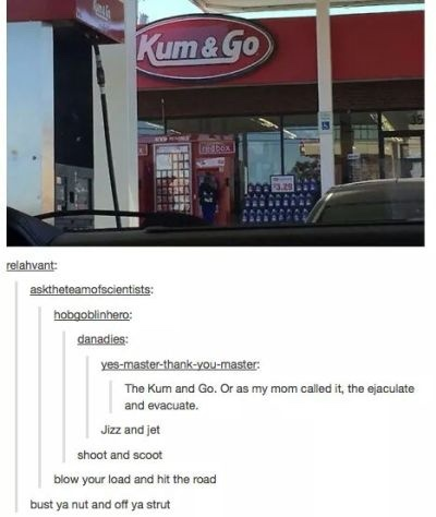 Kum and go - meme