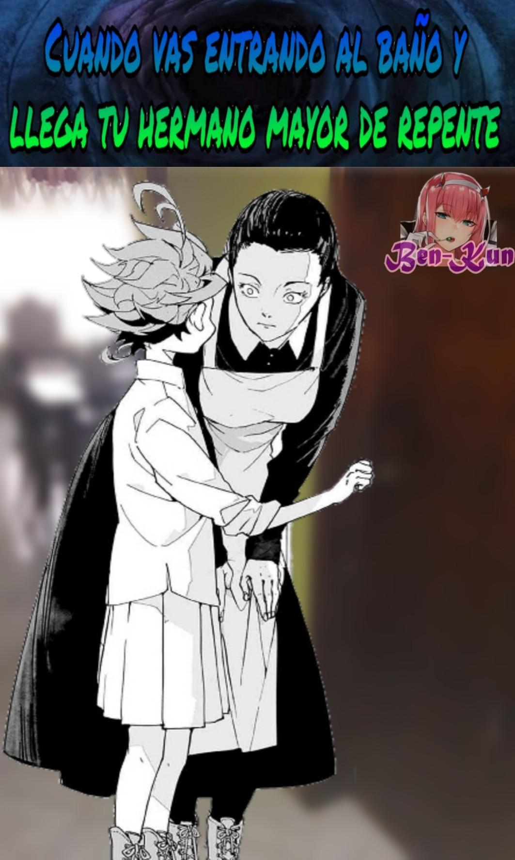 Para elque quiera saber, el anime es Yakusoku no Neverlan o Promised no Neverland - meme