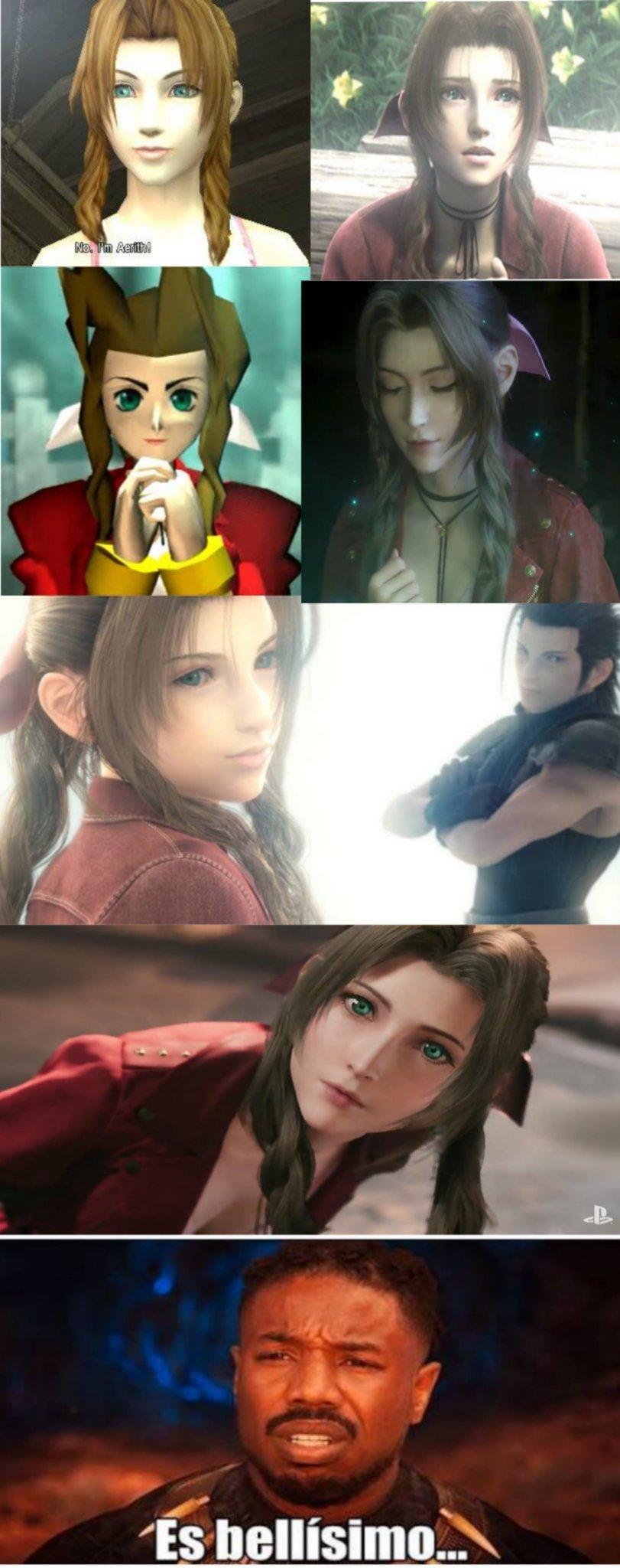 Final Fantasy VII - meme