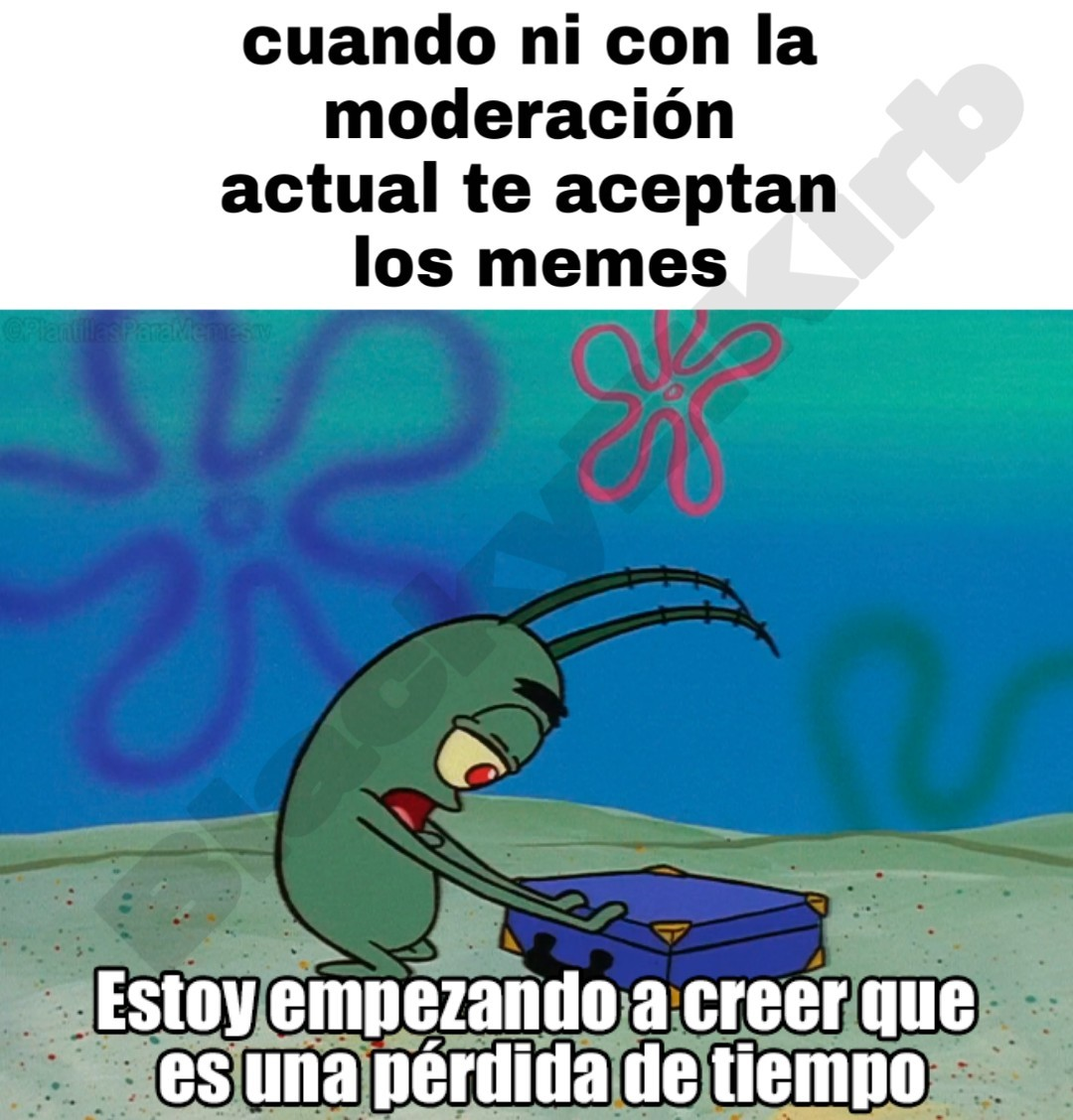 We will make moderación great again - meme