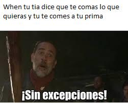 Sin excepciones - meme