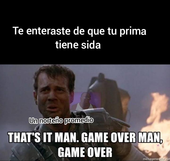 Game over man - meme