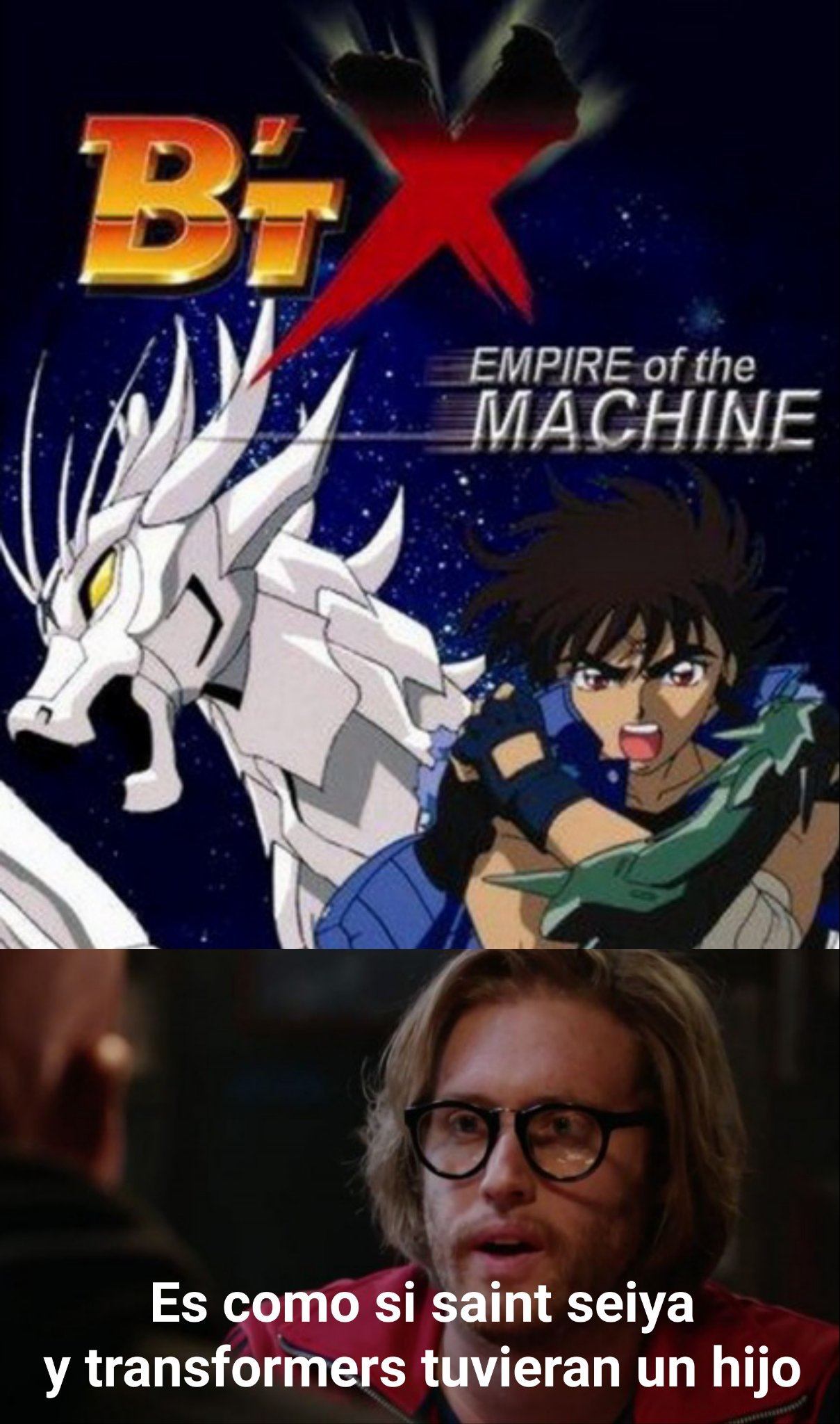 Saint Seiya + Transformers = b't X - meme
