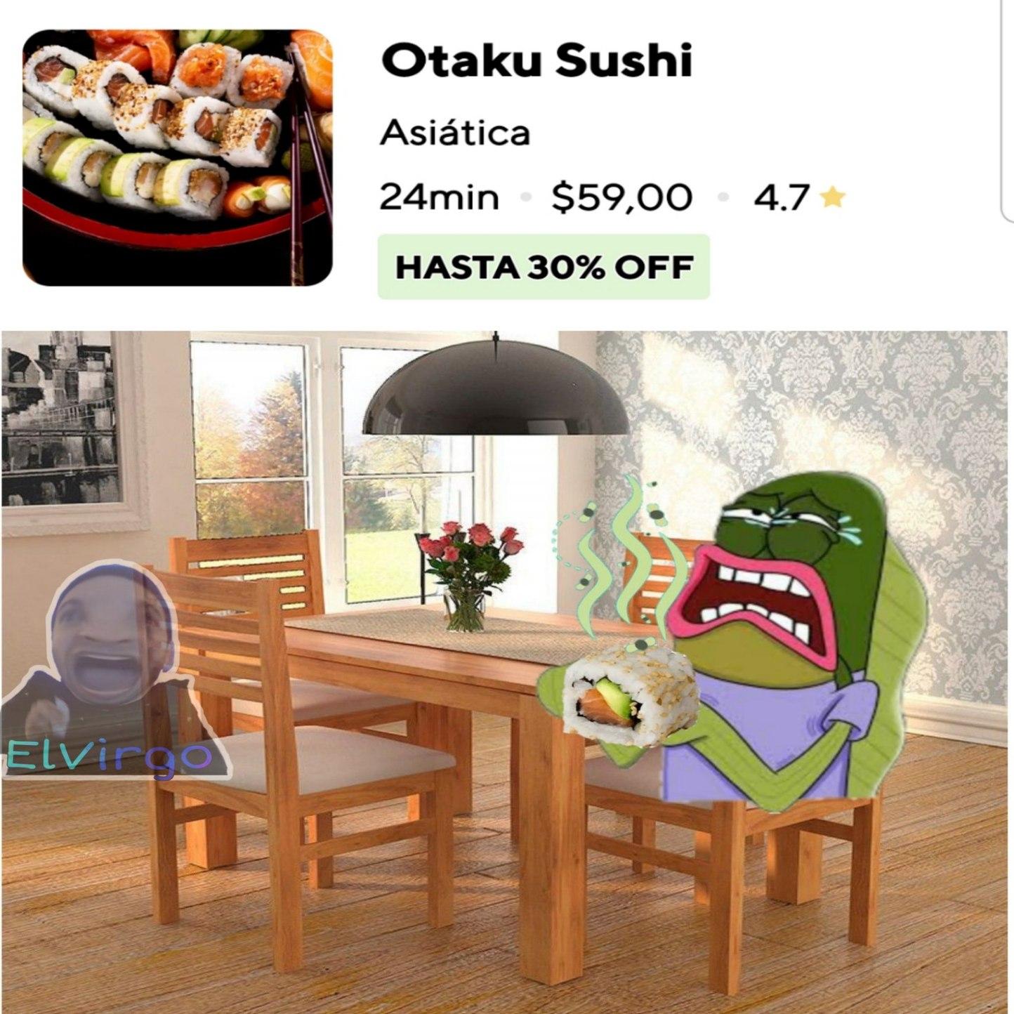 Sushi Podrido | Vendo pulmones a muy buen precio. - meme