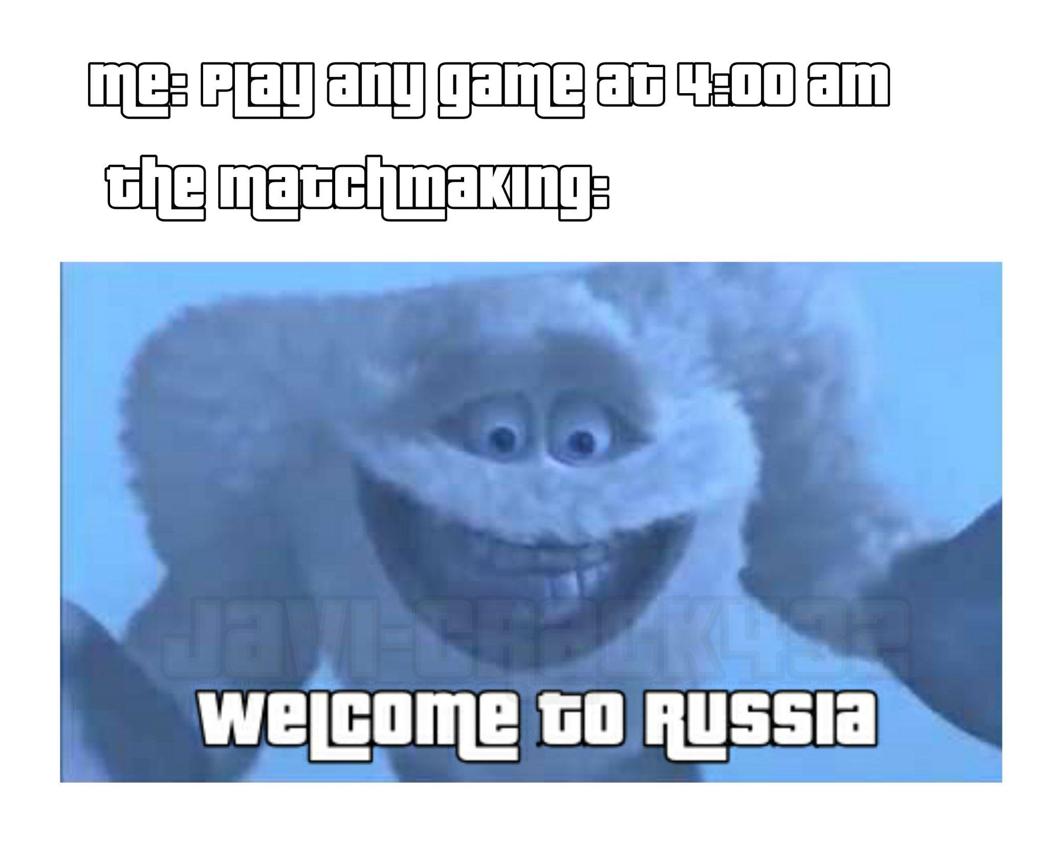 The title doesn't speaks Russian - meme