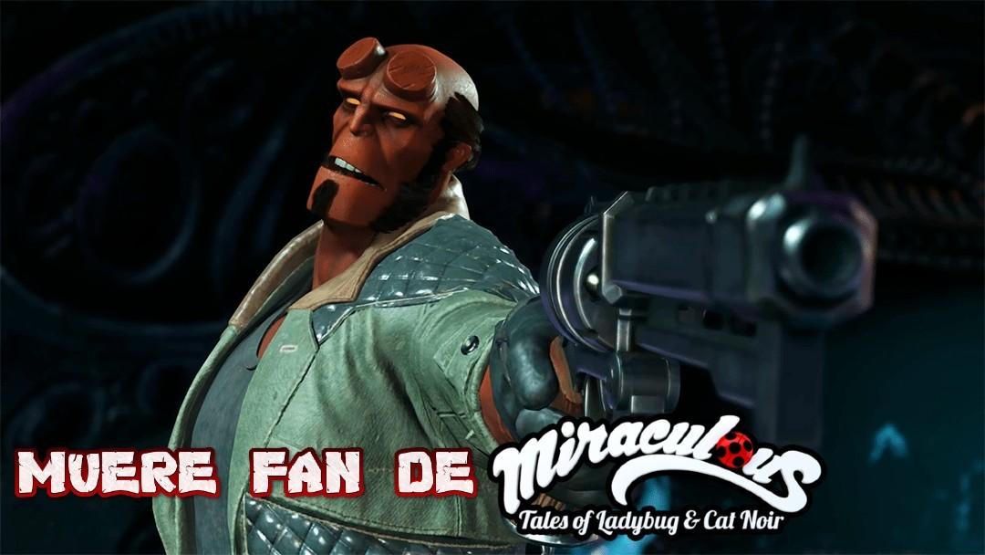 que capo el hellboy (plantilla en HD) - meme