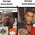 fax, Santa believers unite