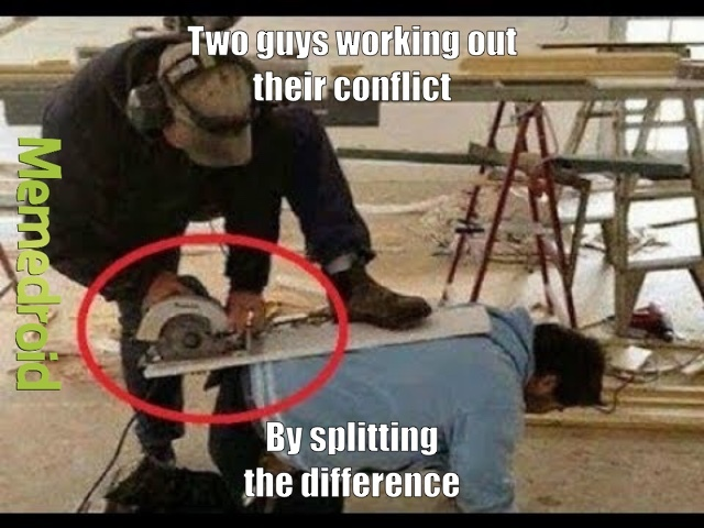 Conflict Resolution - meme
