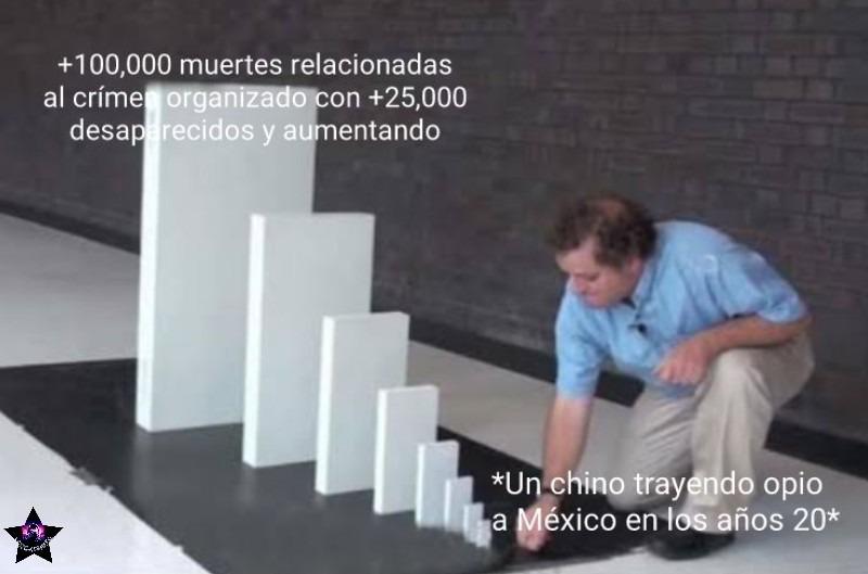 Y para variar ese takataka desembarco en Sinaloa - meme