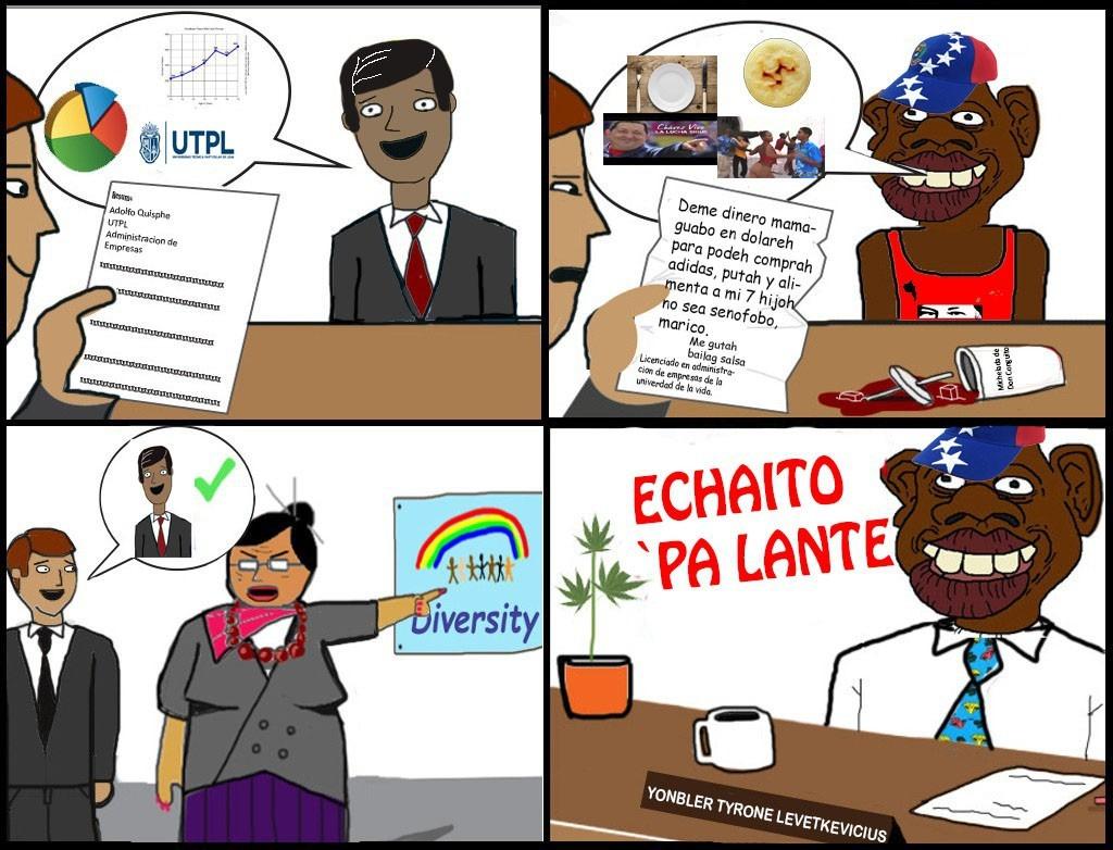 Licenciado en administración de empresas de la universidad de la vida - meme