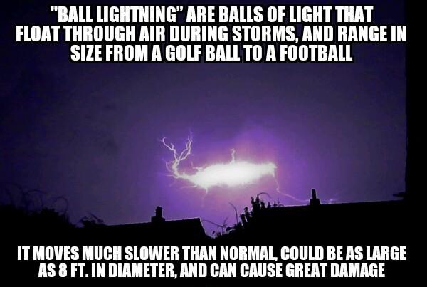 Ball Lightning - meme