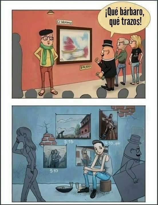 La triste realidad...del mundo - meme