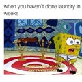 No laundry,no pants