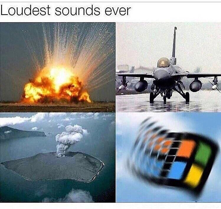 Les sons les plus bruyants au monde ! - meme