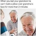 Evil grandpa