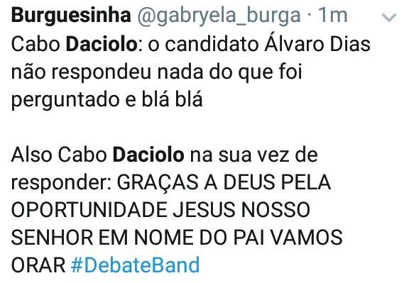 Cabo Daciolo - meme