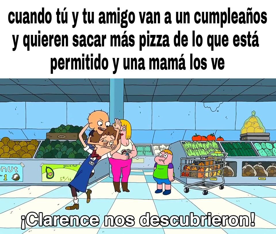 Mucha pizza - meme