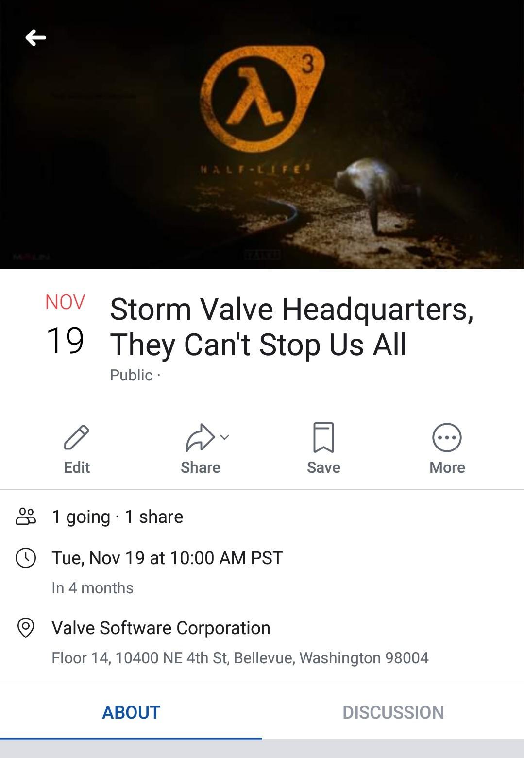 Let's see them Half-Life 3 discs - meme