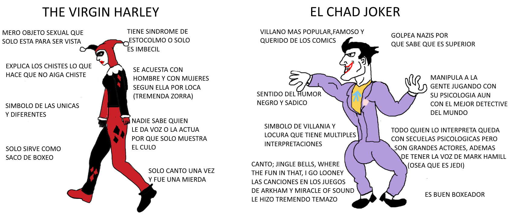 Why so chad? - meme