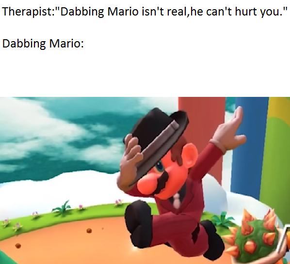 Mario NO - meme