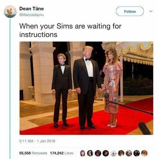 Slavery : Sims - meme