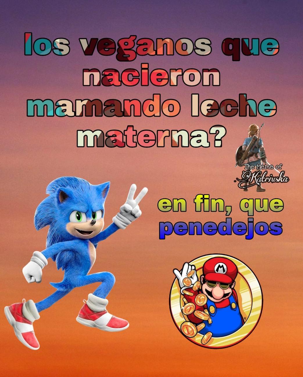 LOS VERGANOS Shitpost - meme