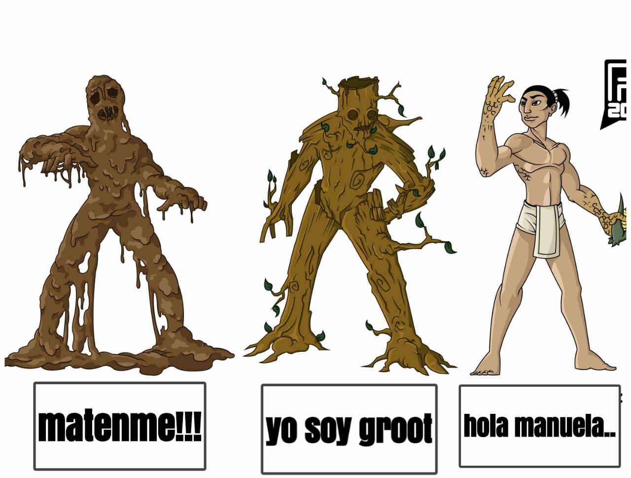 Tipos de seres vivos - meme