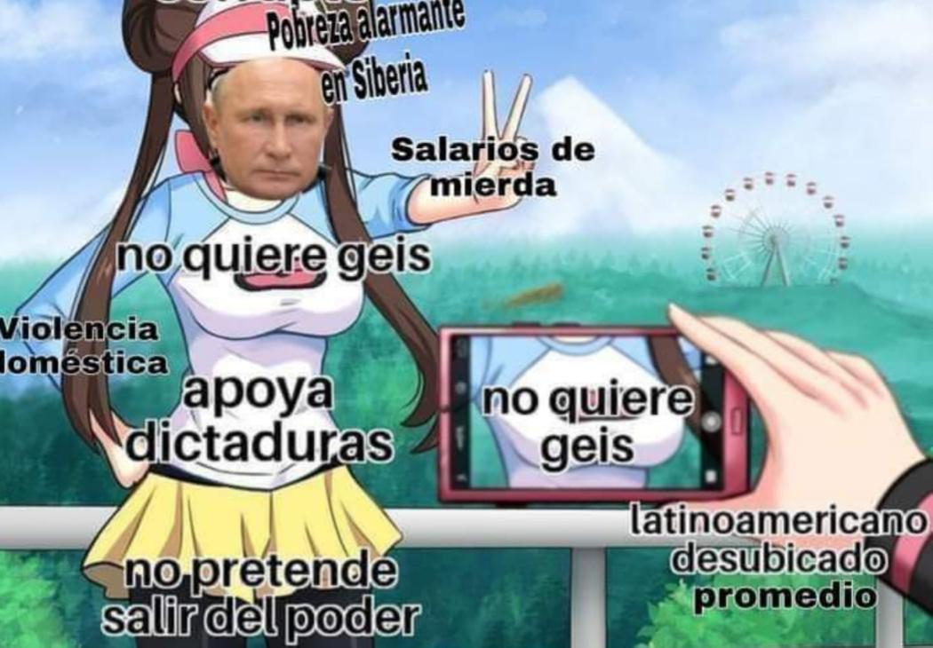Si me sacas de Latinoamérica , te daré lo que quieras. - meme