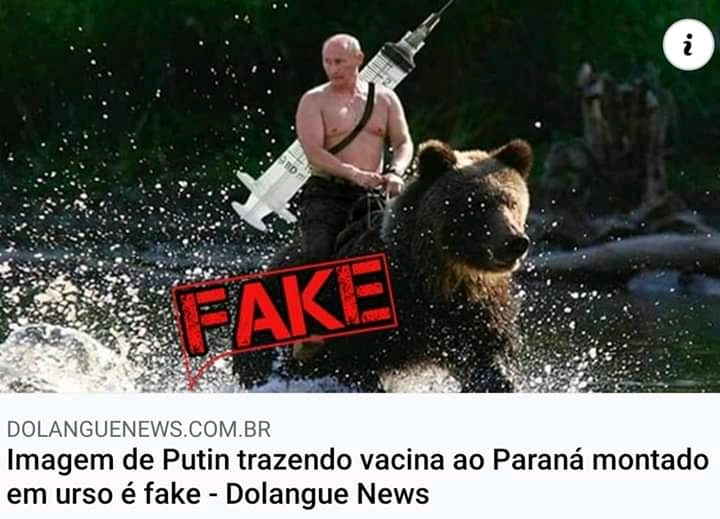 Quem vai tomar a vacina russa? - meme