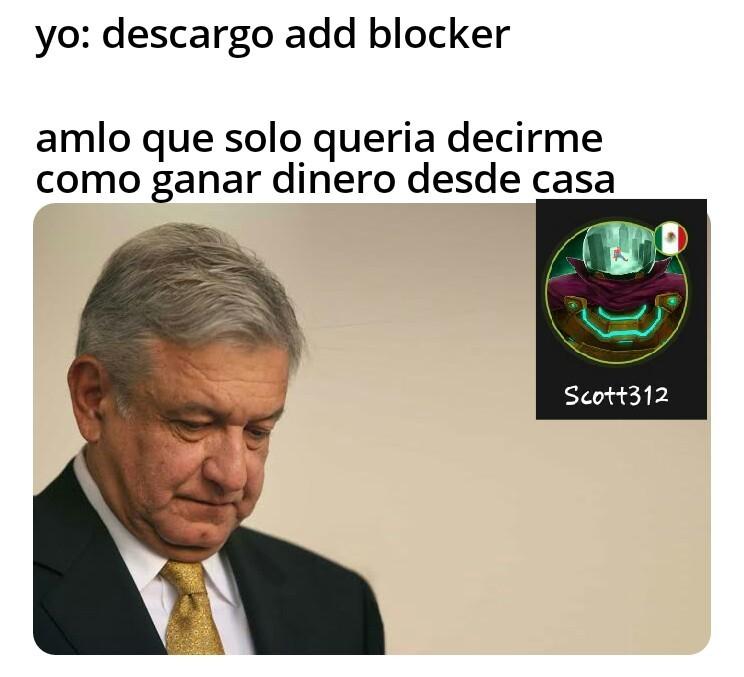 Pobre amlo - meme
