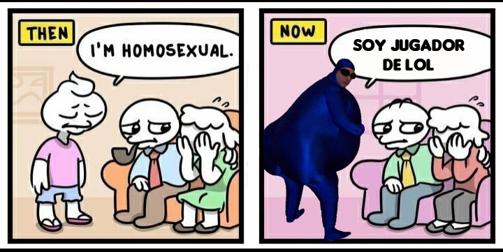 THEN/NOW - meme