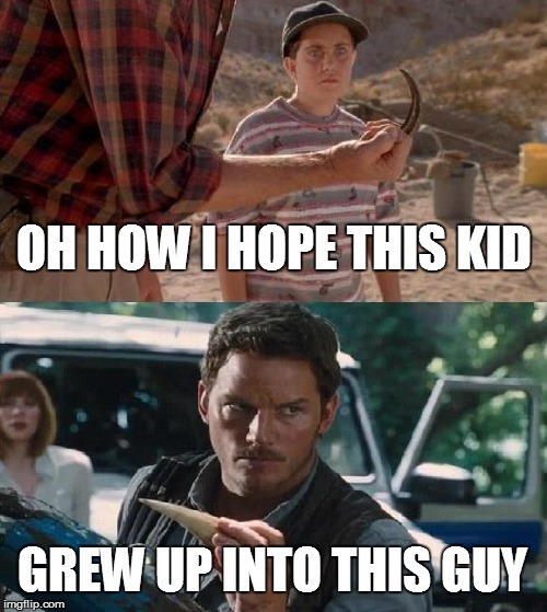 Jurassic Park vs Jurassic World - meme