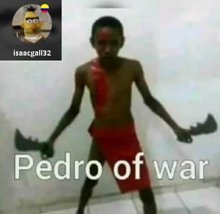 pedro of guarrr - meme