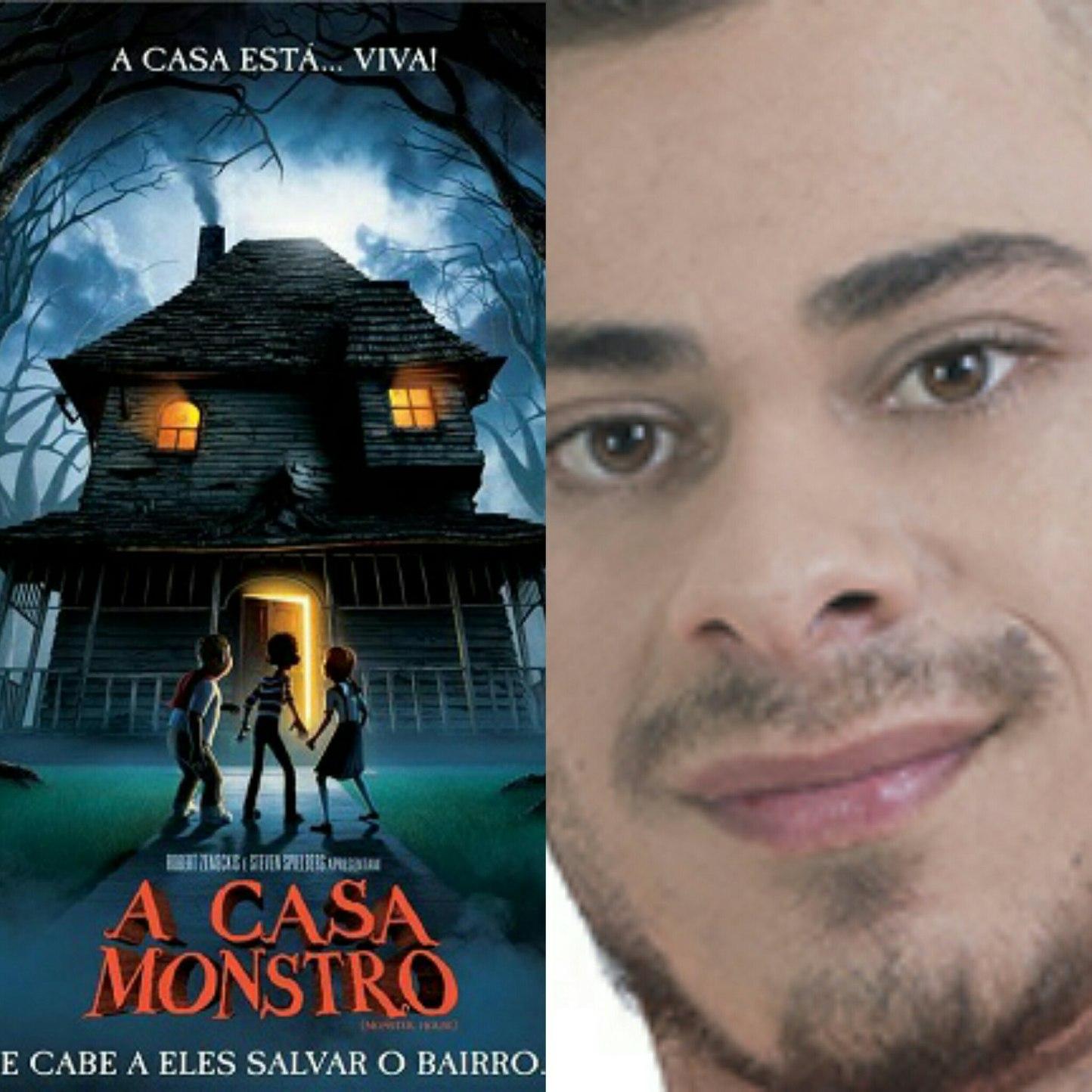 A casa monstro - meme