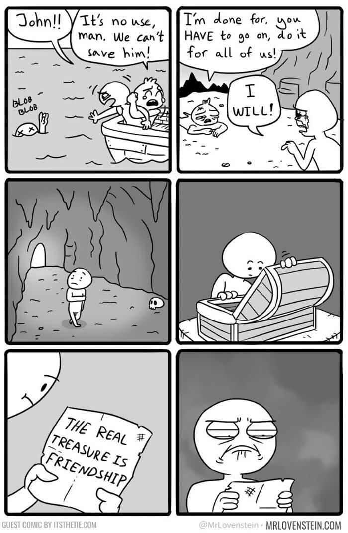 The Treasure... - meme
