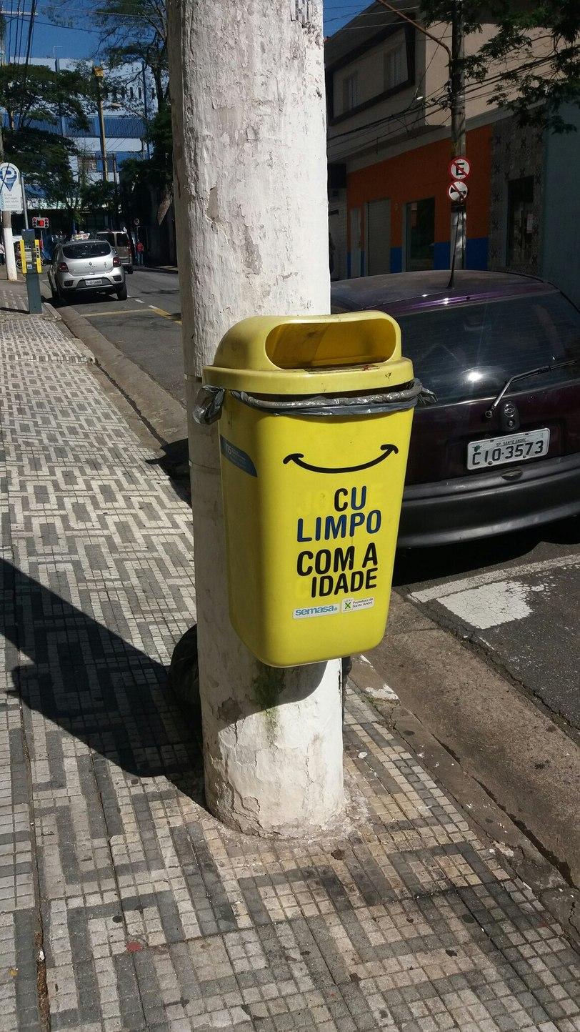Paisagem urbana clássica de São Paulo - meme