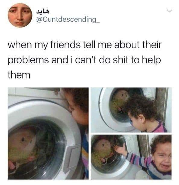 Problems you can't solve - meme