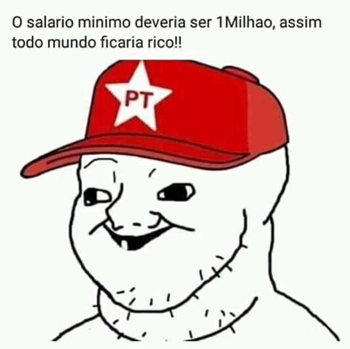Partido dos trabalhadores - meme